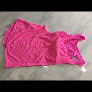 Lululemon pink run for your money tank size 2 Euc